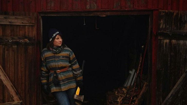 Laura Zagar är amerikanskan som lämnade landet för Västerbotten. Foto: Privat