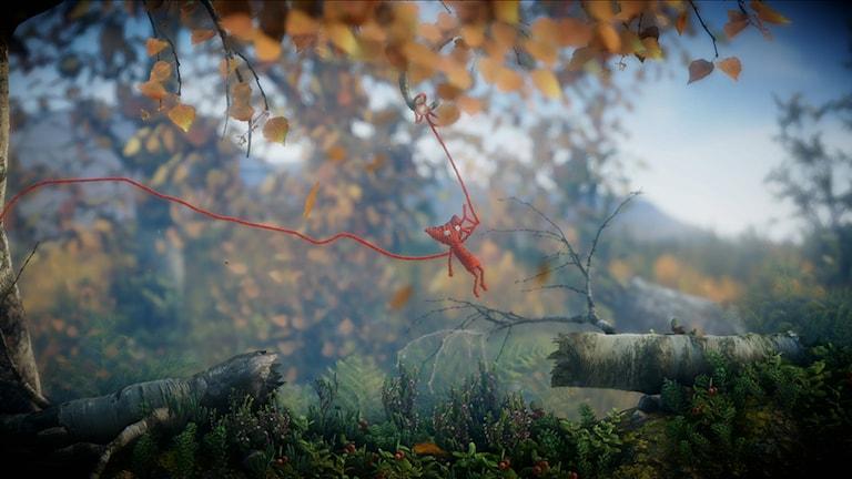 Unravel. Yarny. Ett tv-spel i västerbottnisk miljö. Foto: Pressbild