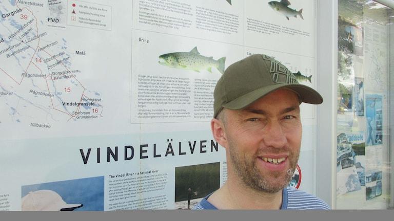 Ullrik Thuresson Sorsele fiskecentrum ser fler utländska fisketurister.