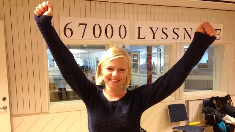 Emma Lindqvist Stöcke TS Järnet. Foto Johanna Frostensson/SR.