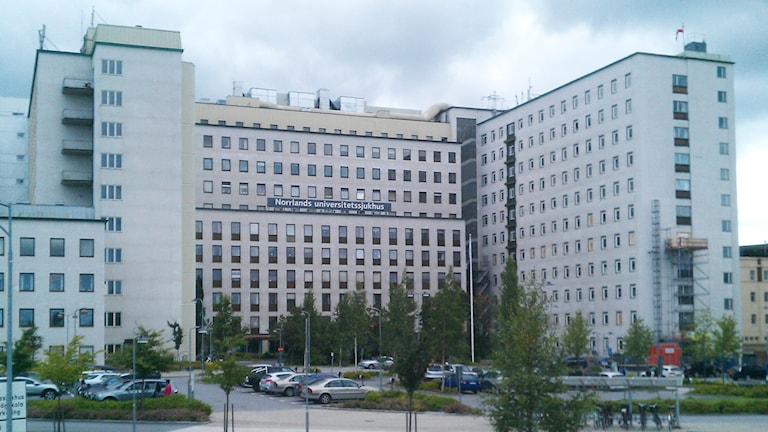 Norrlands universitetssjukhus i Umeå. Foto: Peter Öberg, Sveriges Radio.