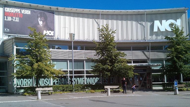 Norrlandsoperan i Umeå. Foto: Peter Öberg, Sveriges Radio.