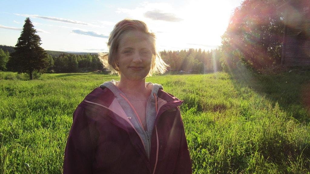 Sonja Abrahamsson, P4 Västerbottens krönikör. Foto: Privat