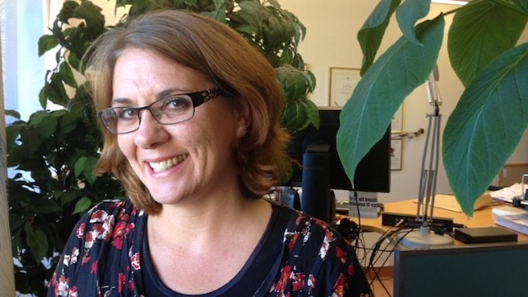 Kristina Lejon, barndiabetesforskare och lektor vid Umeå universitet.