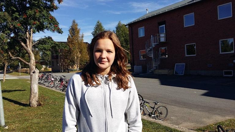 Hedvig Dahlberg från Norsjö Foto Linnea Hedelilja