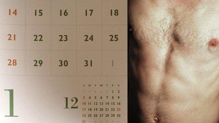Kalender, naken man. Foto: i_yudai/craig Cloutier/Flickr.com (CC BY 2.0)