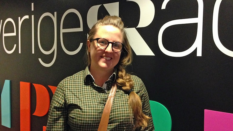 Stina Stoor. Foto: Anette Olofsson, Sveriges Radio.