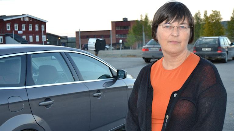 Sunniva Haugen, gruvchef boliden, Kristinebergsgruvan. Foto: Marilén Karlsson