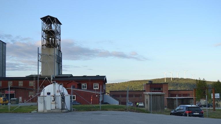 Kristinebergsgruvan, Kristineberg, gruvolycka. Foto: Marilén Karlsson
