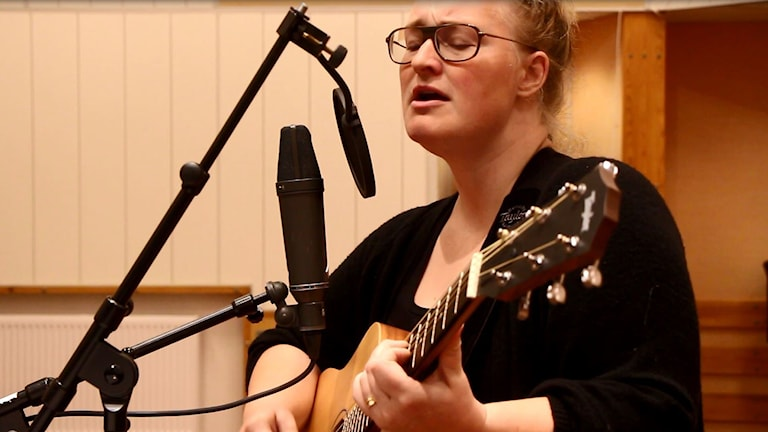 "Emma Örnberg ""Pines & Birches"". Foto: Helena Andersson/Sveriges Radio"