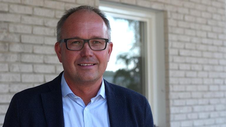 Pär Lindberg, regionchef för Postnord i Norrland. Foto: Helena Andersson/Sveriges Radio