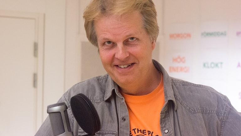 Patrik Norqvist. Foto: Helena Andersson/Sveriges Radio