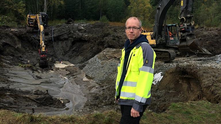 Vattenläcka i Skellefteå