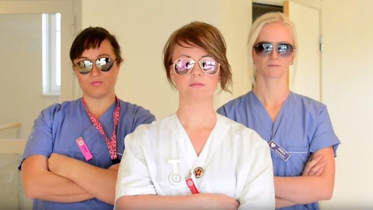 Ortopeden i Umeå musikvideo. Bild från youtube.com