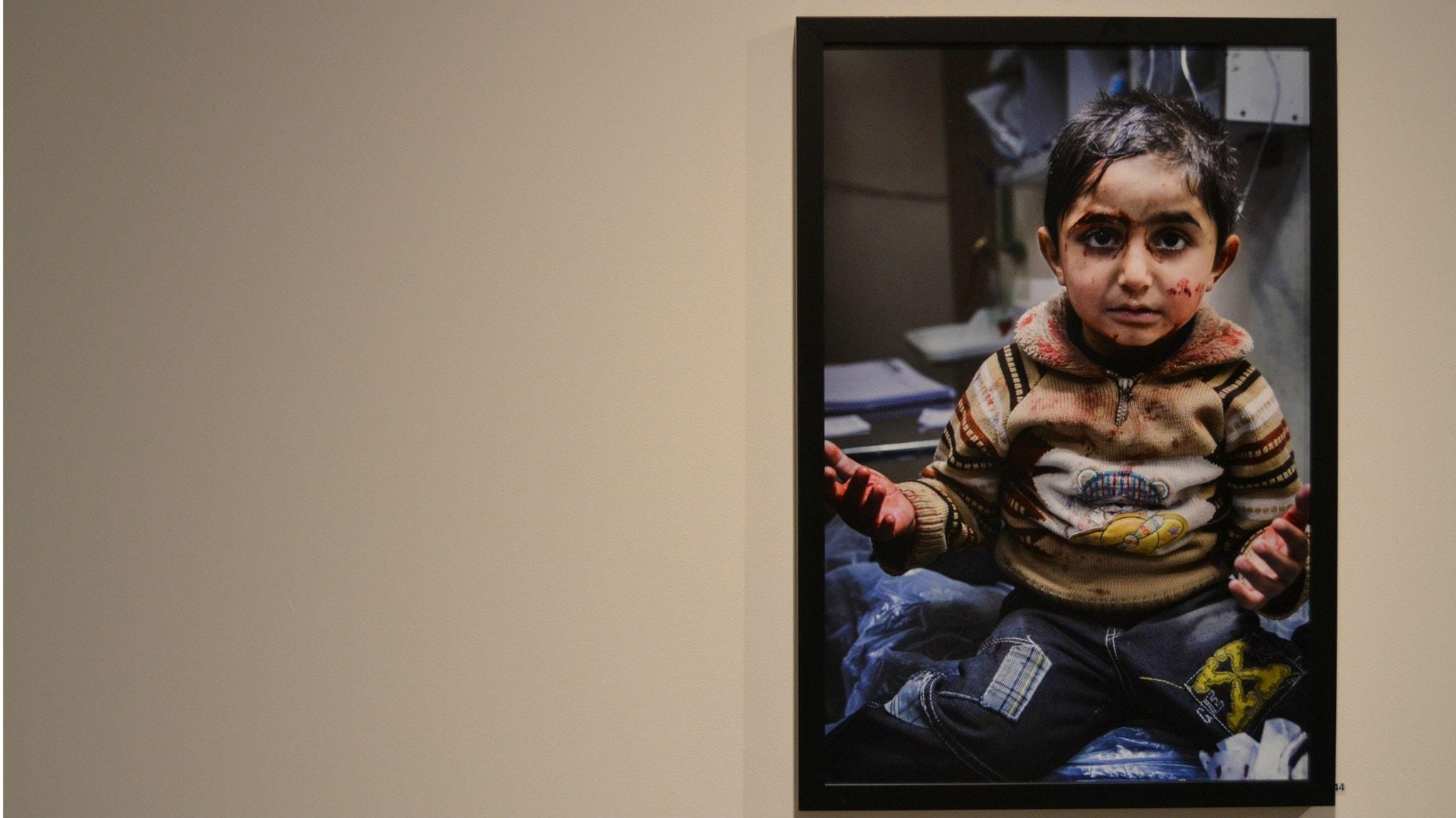 Starka bilder fran konflikthardar