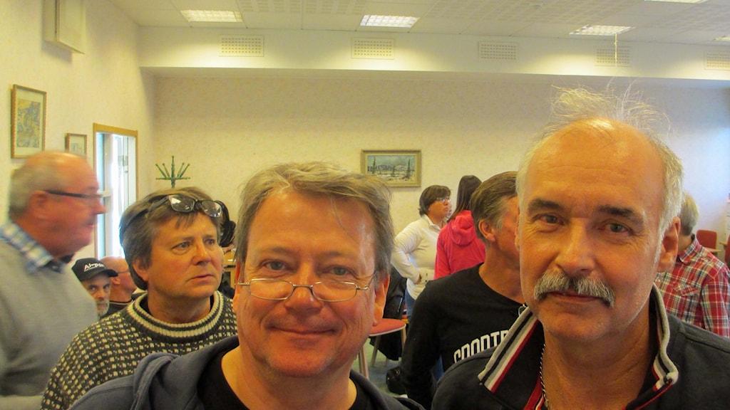 Christer Borg och Mikael Strömberg foto Örjan Holmberg/SverigesRadio