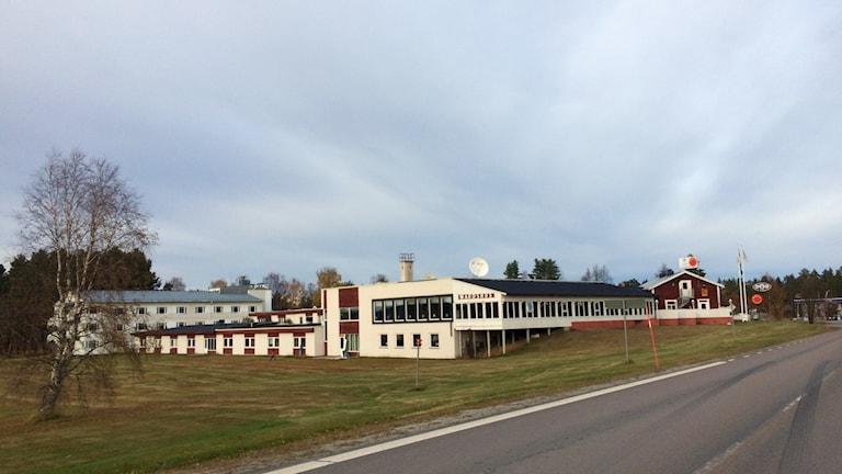 Värdshuset i Åsele. Foto: Olov Antonsson/Sveriges Radio