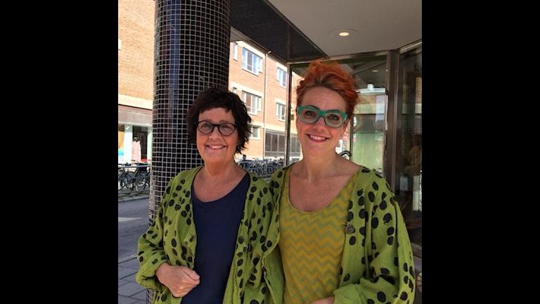 Inger Ögren och Marie Andersson Foto Åza Meijer