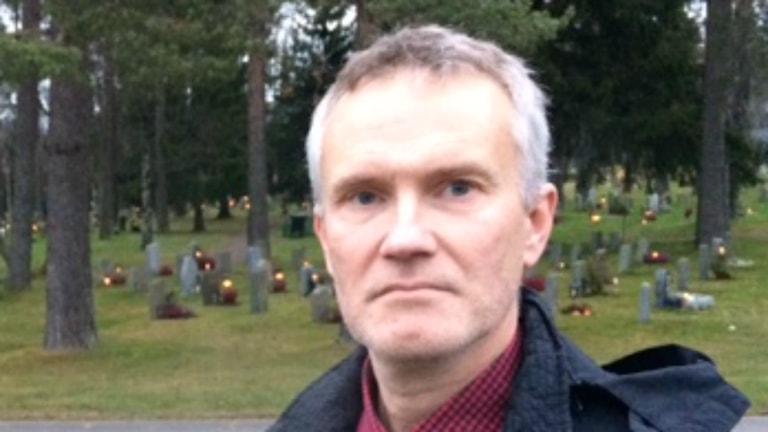 Peter Lindberg, ordförande Föräldraföreningen Mot Narkotika i Umeå. Foto: Pia Diaz Bergner.