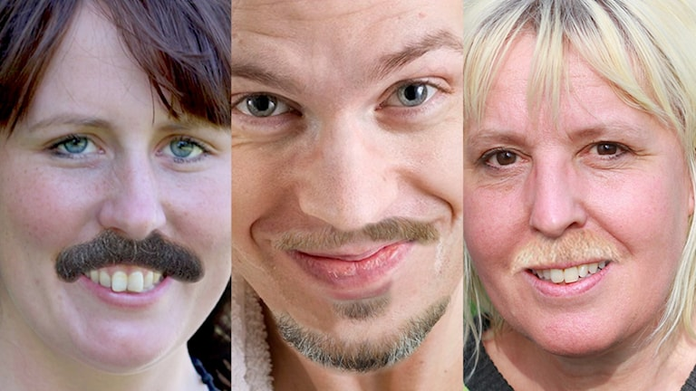 P4 Västerbottens morgongäng, Johanna, Micke och Filippa. Foto: Sveriges Radio