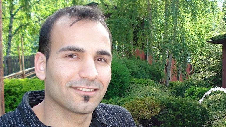 Ali Kassem, tandläkare och doktorand vid institutionen för odontologi. Foto: Privat.