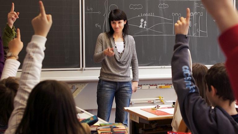 Lärare, klassrum. Foto: Mbeo/Flickr.com (CC BY-NC-ND 2.0)