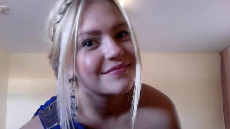 Frida Hellström från Umeå