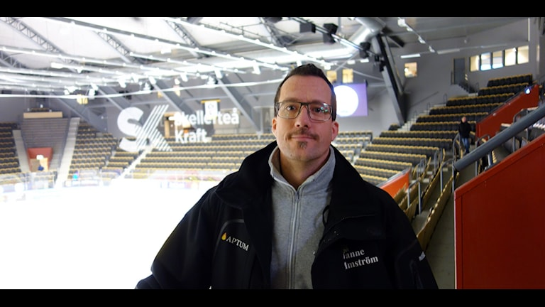Jan Holmström  Säkerhetsansvarig Skellefteå AIK