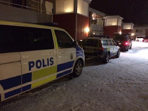 P4 Västerbotten på plats.