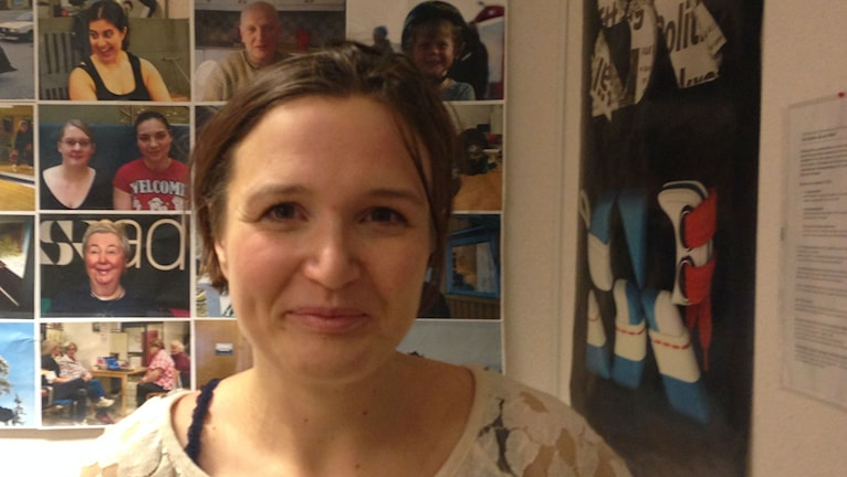 Stina Juto, blev inte bonde i Afrika. Foto: Johanna Frostensson/SR