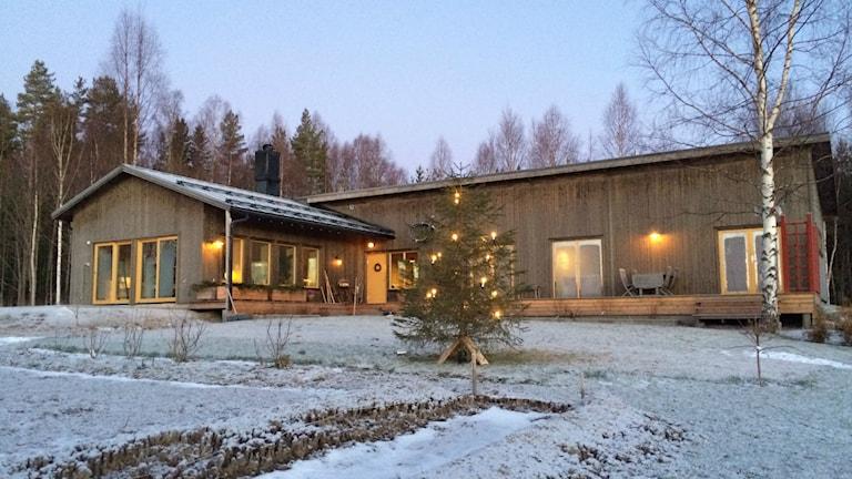 Ekohus, passivhus, klimat, miljö, hus, kassjö. Foto: Adam Timander.