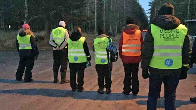 Missing People söker efter försvunnen kvinna i Baggböle. Foto Missing People.