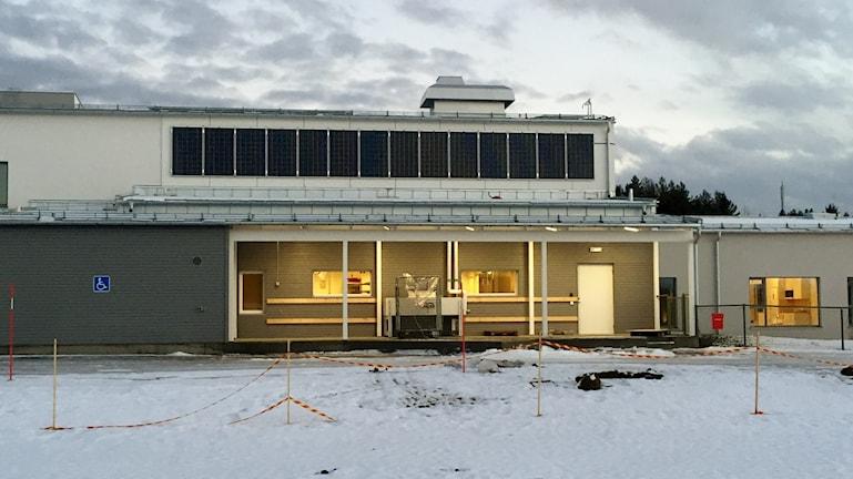 Den nybyggda förskolan Norrbacka i Skellefteå    foto Magnus Bergner