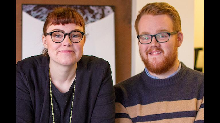 Sofie Edvardsson och Simon Österhof Sojafilm.
