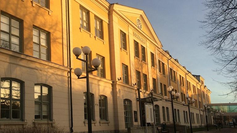 Stadshuset i Umeå. Foto: Lillemor Strömberg/Sveriges Radio.