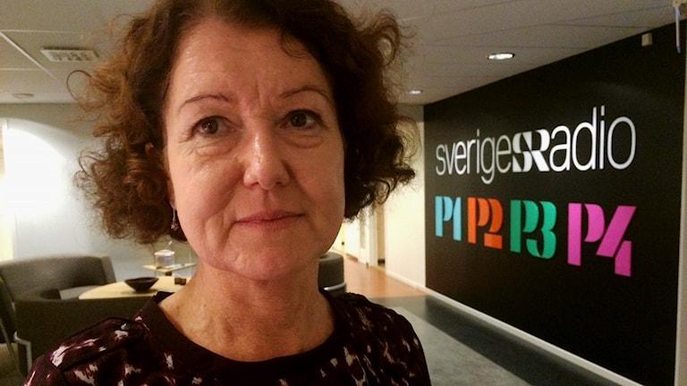 Ann-Cristine Gradin Skoldirektör i Umeå. Foto: John Bakke/Sveriges Radio
