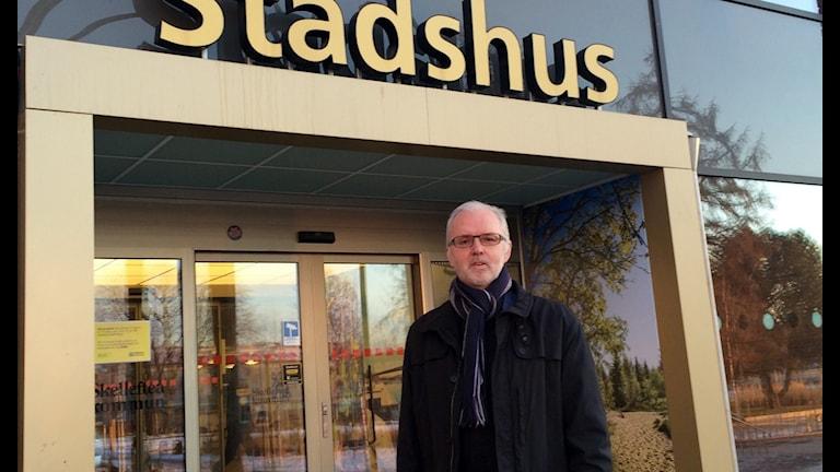 Pär Ådén enhetschef¨på Socilakontoret i Skellefteå  foto Magnus Bergner / SR