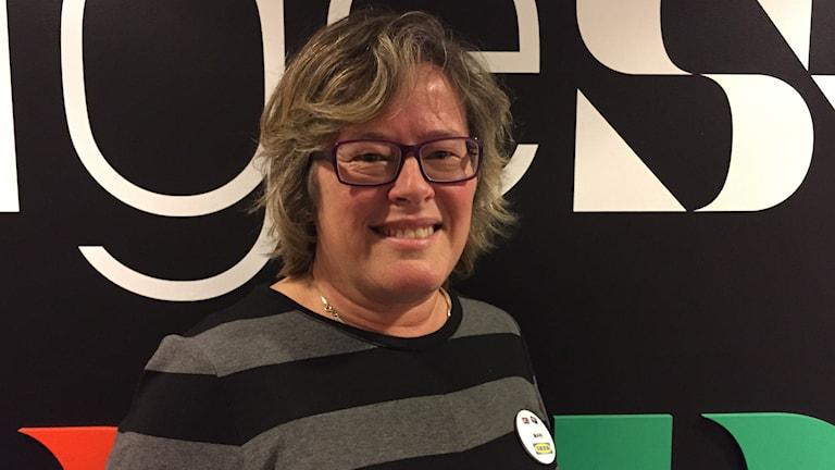 Ikeachefen Marie Gustavsson är årets nyårstalare i Umeå. Foto Alexandra Reichsler/SR.