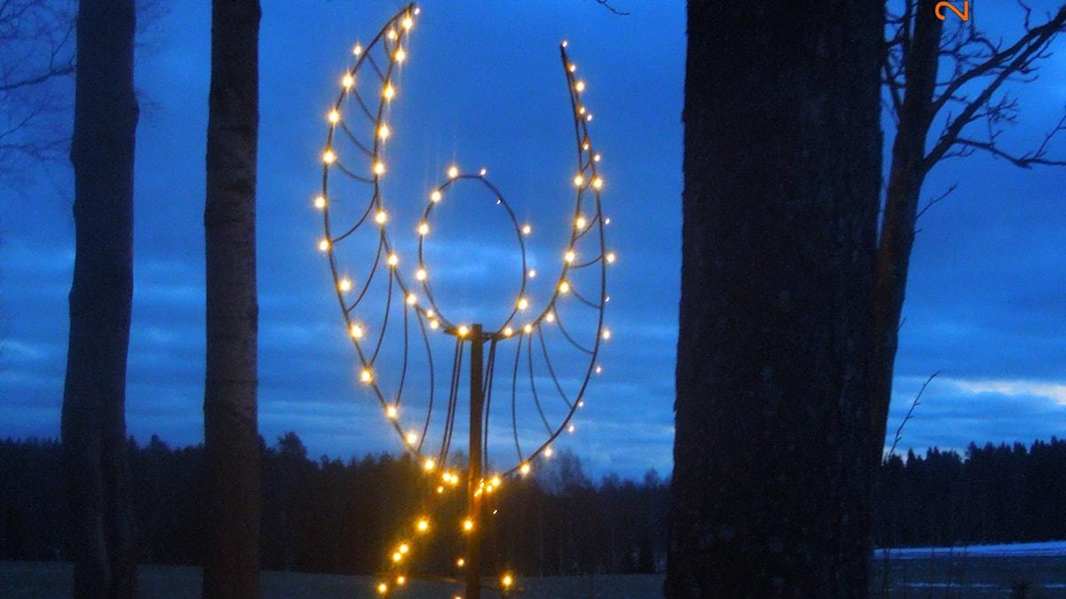 Trädgårdens skyddsängel. Foto Bernt Wikström.
