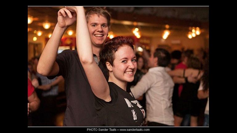 Ellen Tedebring dansälskare som ska till Gräsmyr loge på trettondagsaftonen Foto: Sander Taats