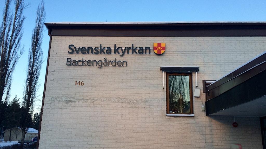 Backengården i Umeå. Foto: Olov Antonsson/Sveriges Radio