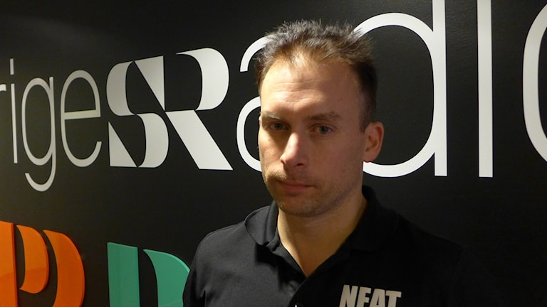 Micke Liljeholm som står bakom Bilbyggarna en ny serie i TV4 Sport Foto Anders Wikström SR