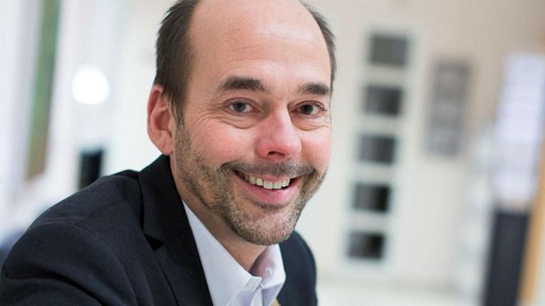 Jerker Eriksson, tillträdande VD på Umeås kommunala fastighetsbolag, Bostaden.