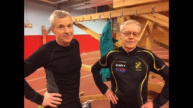 Steve Burman och Dan Granlund Foto Åza Meijer