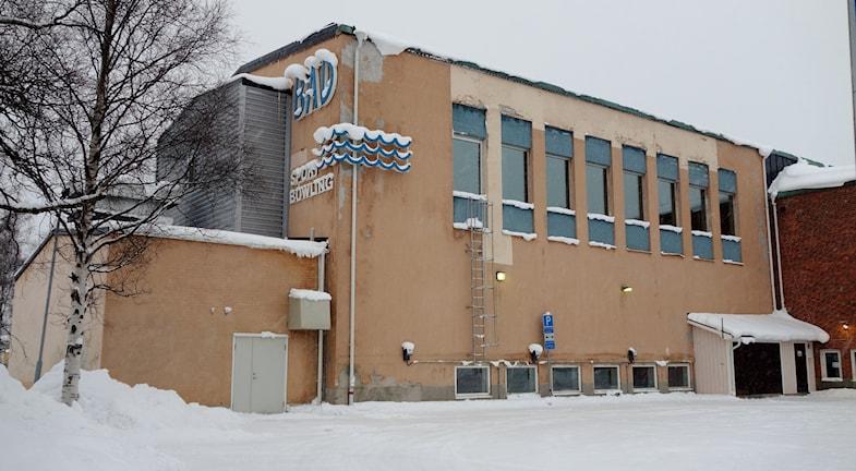 Örjansbadet Skelleftehamn    foto Magnus Bergner / SR