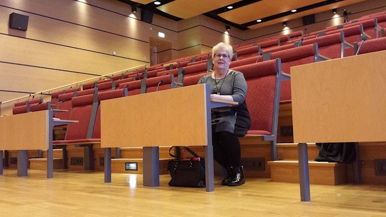 Maria Marklund, Skellefteå kommun nya kommunalråd. Foto: Linnea Hedelilja