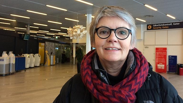 Margareta Rönngren, socialdemokratiskt kommunalråd i Umeå. Foto: Lillemor Strömberg/Sveriges Radio.