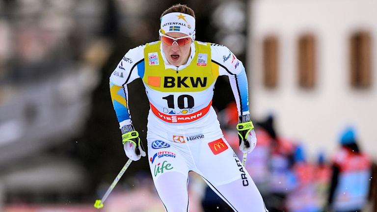 Linn Sömskar. Foto: Anders Wiklund/TT