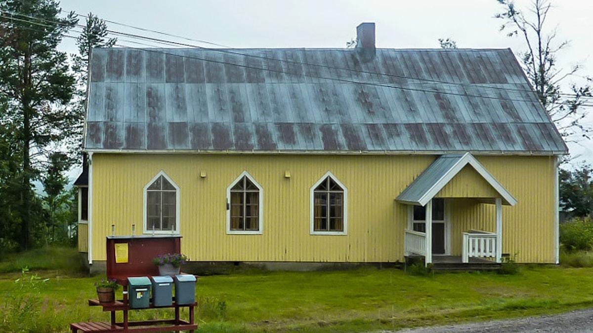 Bönhuset i Missenträsk. Foto: Länsstyrelsen Västerbotten.