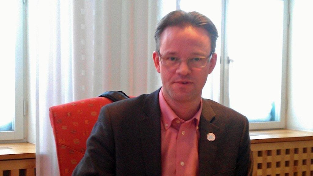 Anders Ågren. Foto: Tommy Engman, Sveriges Radio.